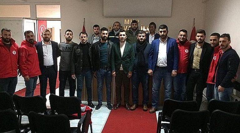 Dilovası AK Partili Gençlerden MHP'ye ziyaret!