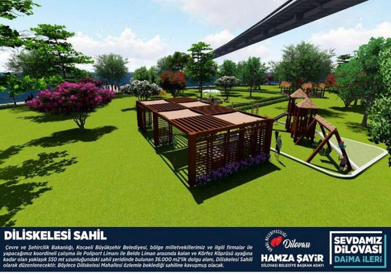 Hamza Şayir'den Dilovası'na altın projeler