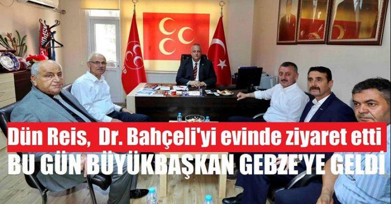 Başkan Büyükakın, önce Gebze'yi sonra Kandıra MHP'yi ziyaret etti!