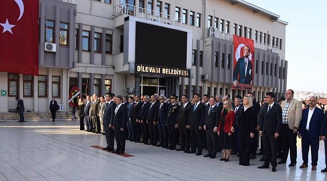 Dilovası'nda Atatürk Anıldı